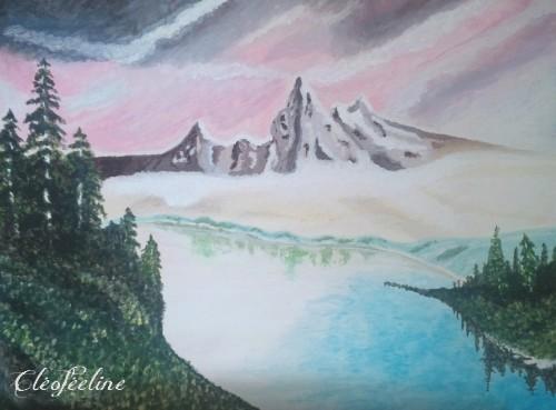 La Montagne Enchantée - Cléoféeline