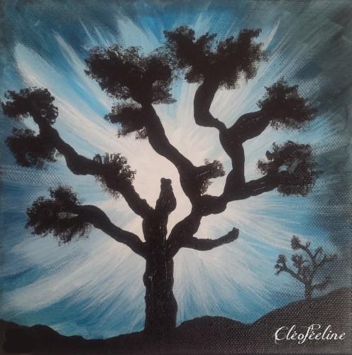 L'arbre d'hiver - Cléoféeline
