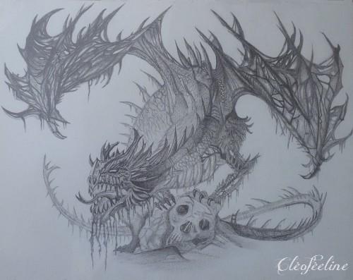 Le Dragon Solitaire - Cléoféeline