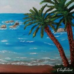 La plage déserte