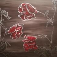 Les Roses Givrées
